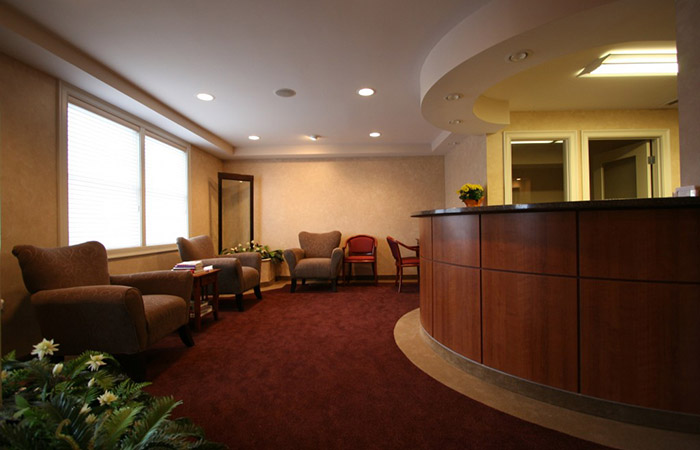 Westford Dental Implant Center Patient Lounge